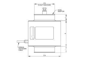 Air Intake Shutdown Valves | E-M Series - Automatic:Manual Overspeed Shut Down Valves_01