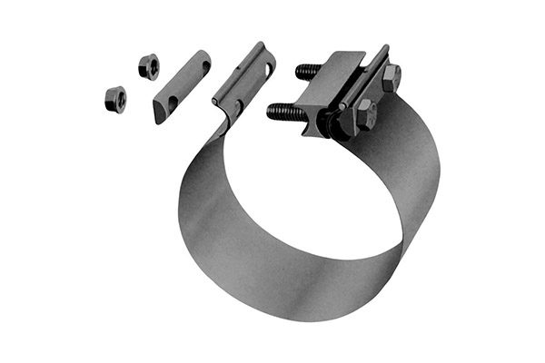 Exhaust Clamps_Stainless Steel Butt Torctite Clamp