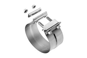 Exhaust Clamps_Stainless Steel Lap TorcTite Clamp (Stepped)