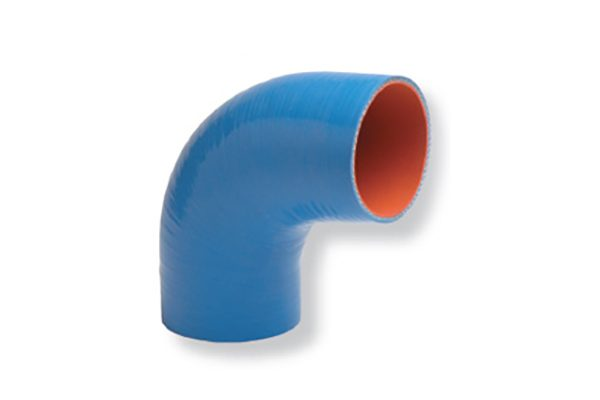 Silicone Wet Exhaust Hose (180°C) | Silicone Wet Exhaust - 90° Elbow