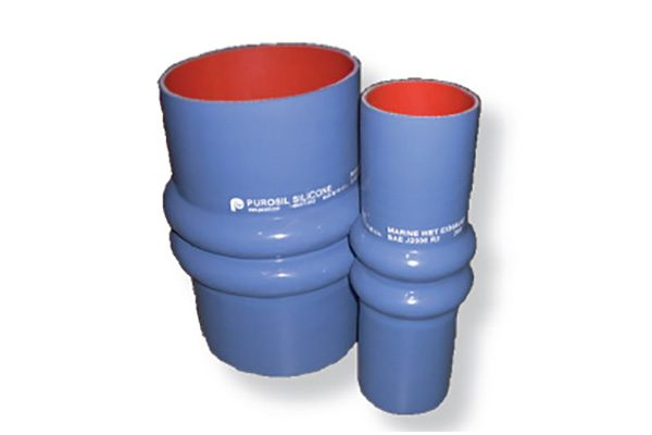 Silicone Wet Exhaust Hose (180°C) | Silicone Wet Exhaust - Double Hump Hose