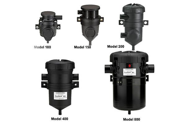 Crank Case Filter Assemblies   Mann+Humel Open/Closed Circuit Provent