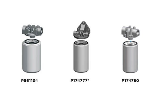 Donaldson Lube Filters _ Filter Head Selection