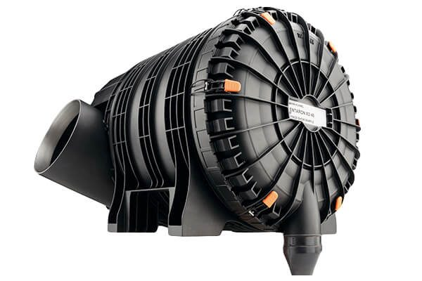 Mann + Hummel Air Cleaners _ ENTARON XD - Two-stage plastic air cleaner – Medium Dust