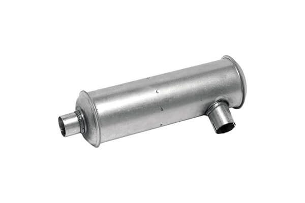 Nelson Global Standard Line Muffler_Type 5 Muffler - Side In _ End Out